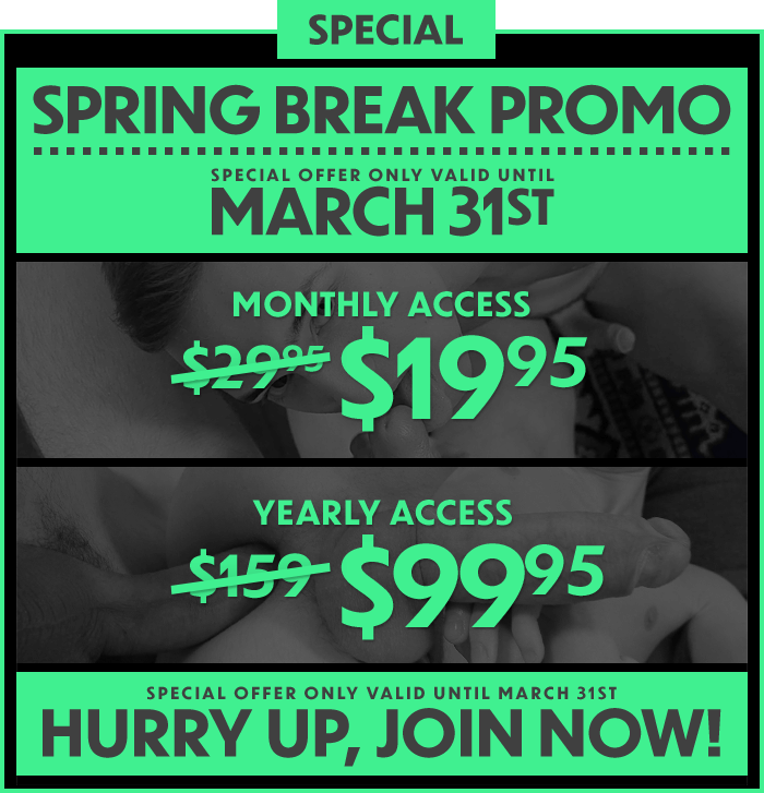 Special Spring Break Offer